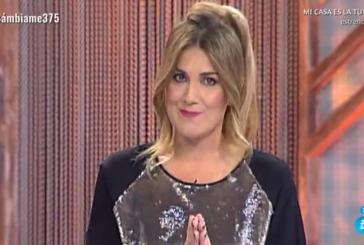 Carlota Corredera se estrena como nueva presentadora de Cámbiame