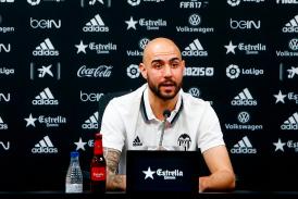 """Zaza: """"Estoy aquí porque el Valencia es el club que más me ha querido"""""""