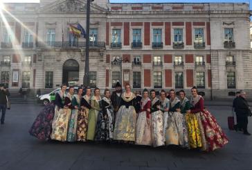 Raquel Alario y su Corte de Honor viajan a Madrid para dar a conocer las Fallas en #FITUR2017