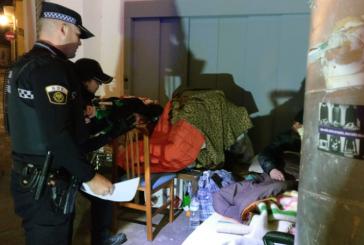 #OlaDeFrío| Más de 60 personas sin techo son atendidas desde el inicio del temporal