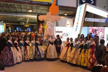 Raquel Alario, Ribó y Fuset dan a conocer las Fallas de la Unesco en FITUR