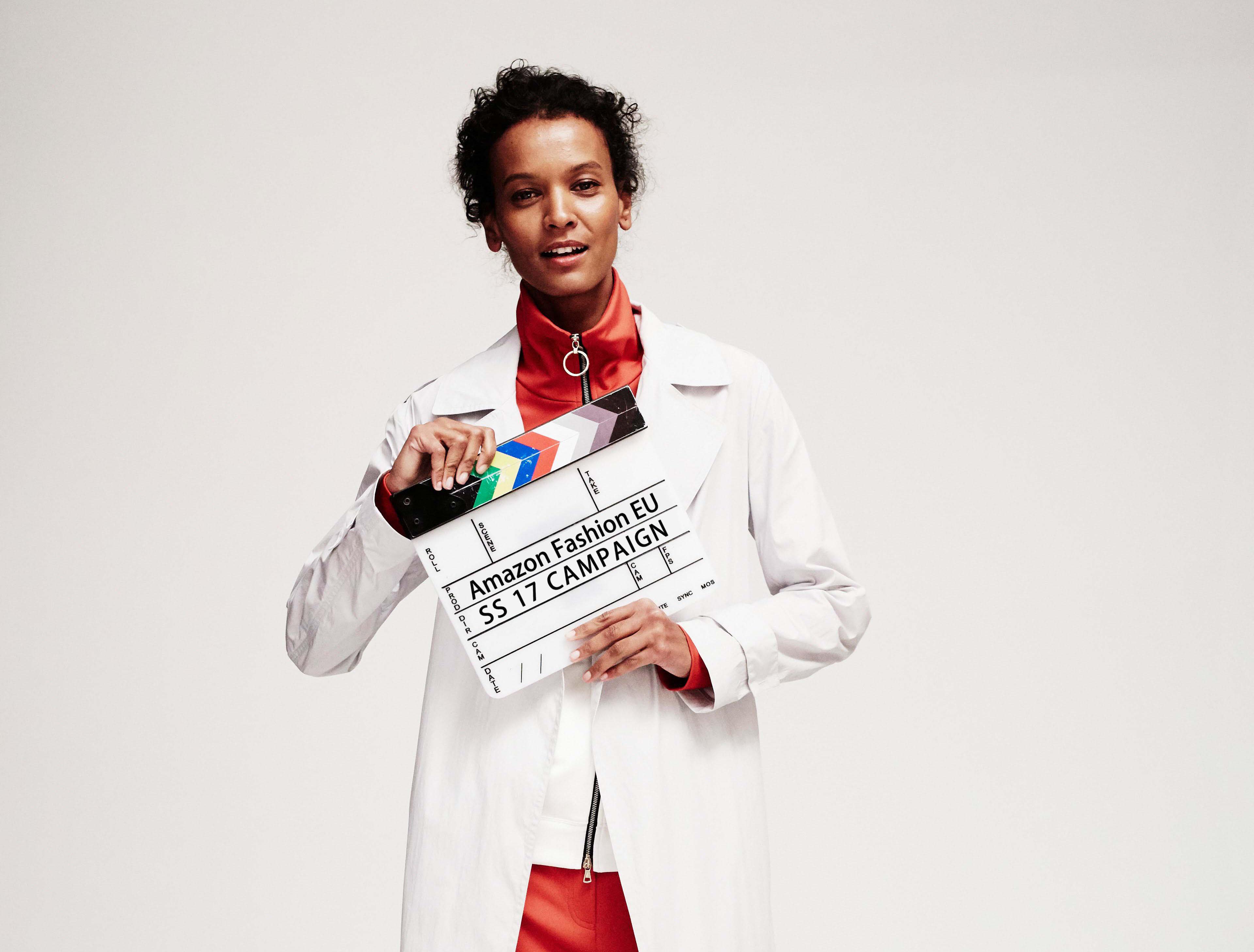 Amazon Moda sigue en expansión y anuncia a Liya Kedebe como su nueva imagen en Europa