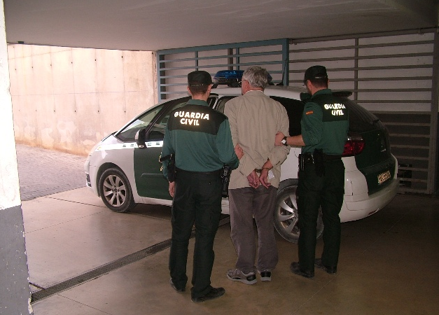 Guardia Civil, detenido
