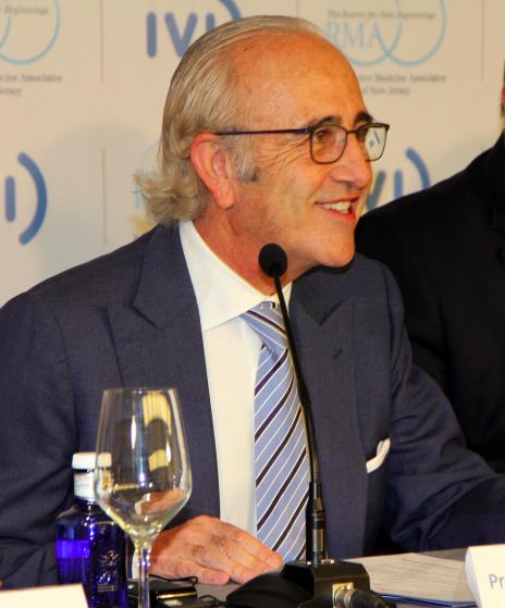 Profesor Antonio Pellicer. Foto: Official Press