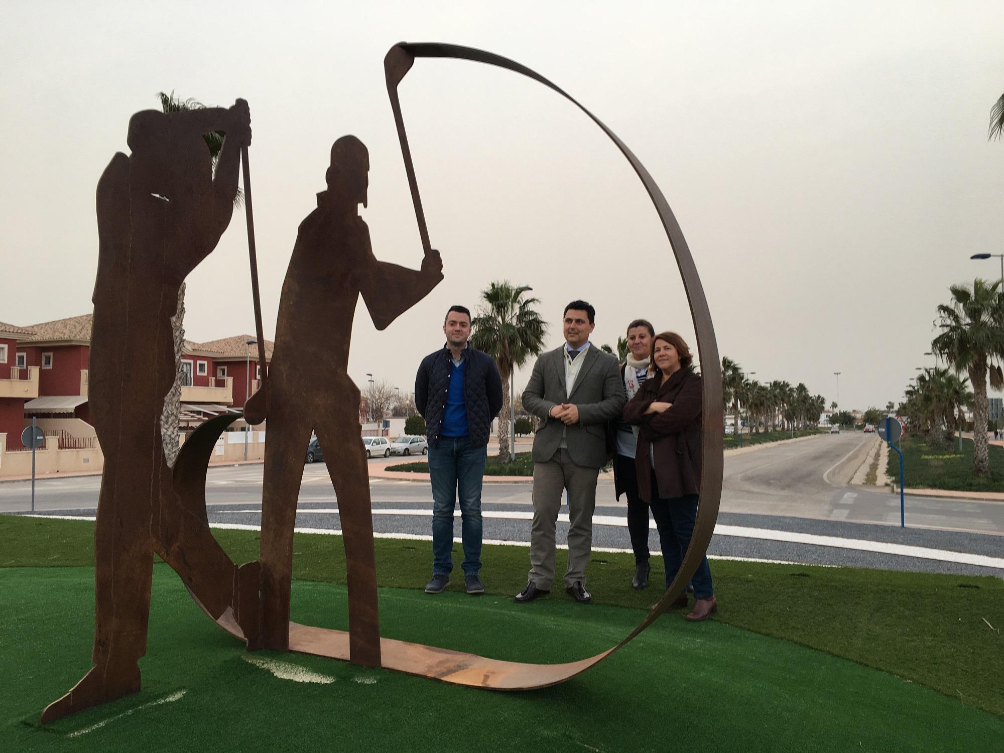Euro Roda estrena rotonda dedicada al golf