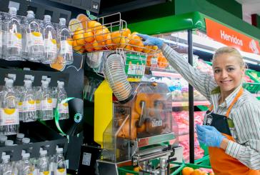 Mercadona implanta un nuevo servicio de zumo de naranja recién exprimido en todas sus tiendas