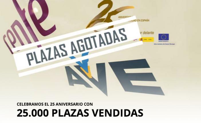 Comunicado de Renfe tras las críticas por los billetes de Ave a 25 euros