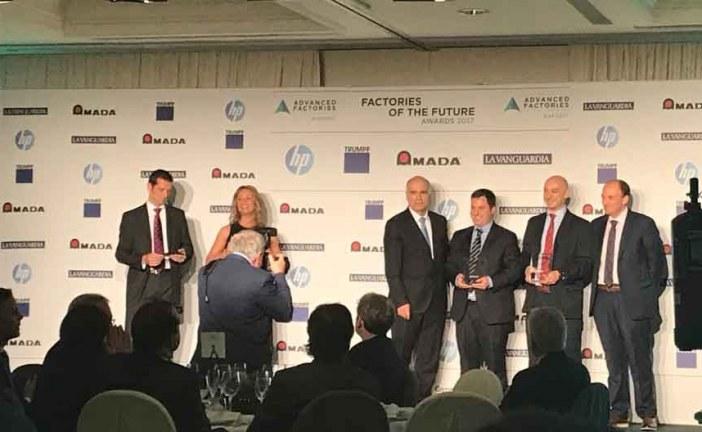 La empresa valenciana @MESbook_ , premiada en la mayor feria europea de Industria 4.0 en Barcelona