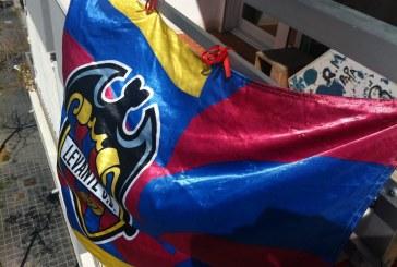 GALERIA| #BalconsGranotes para decorar el ascenso del @LevanteUD