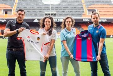 Mestalla, preparado para vivir la fiesta del fútbol femenino valenciano con el derbi