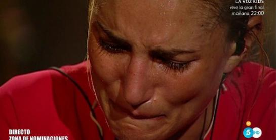 Telecinco impide a Alba Carrillo abandonar Supervivientes