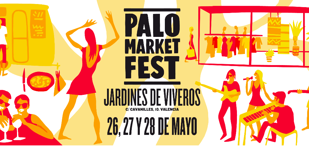 Llega a València el Palo Market Fest con 50 horas de música en directo