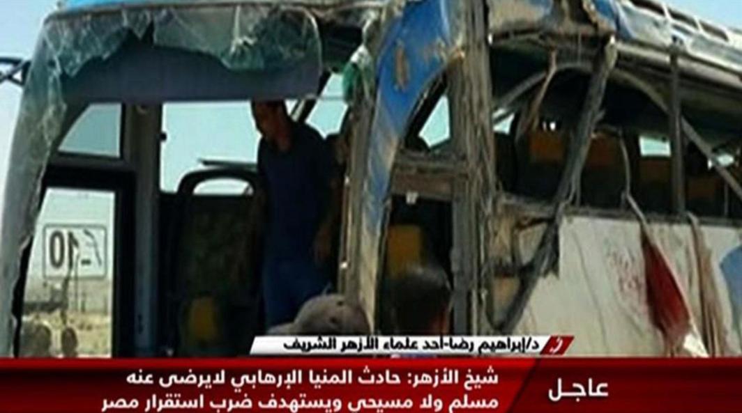 Al menos 26 muertos en un tiroteo contra un autobús que trasladaba a cristianos en Egipto