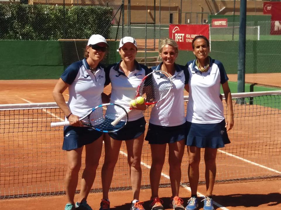 El equipo +40 del Club Español de Tenis se proclama campeón de España