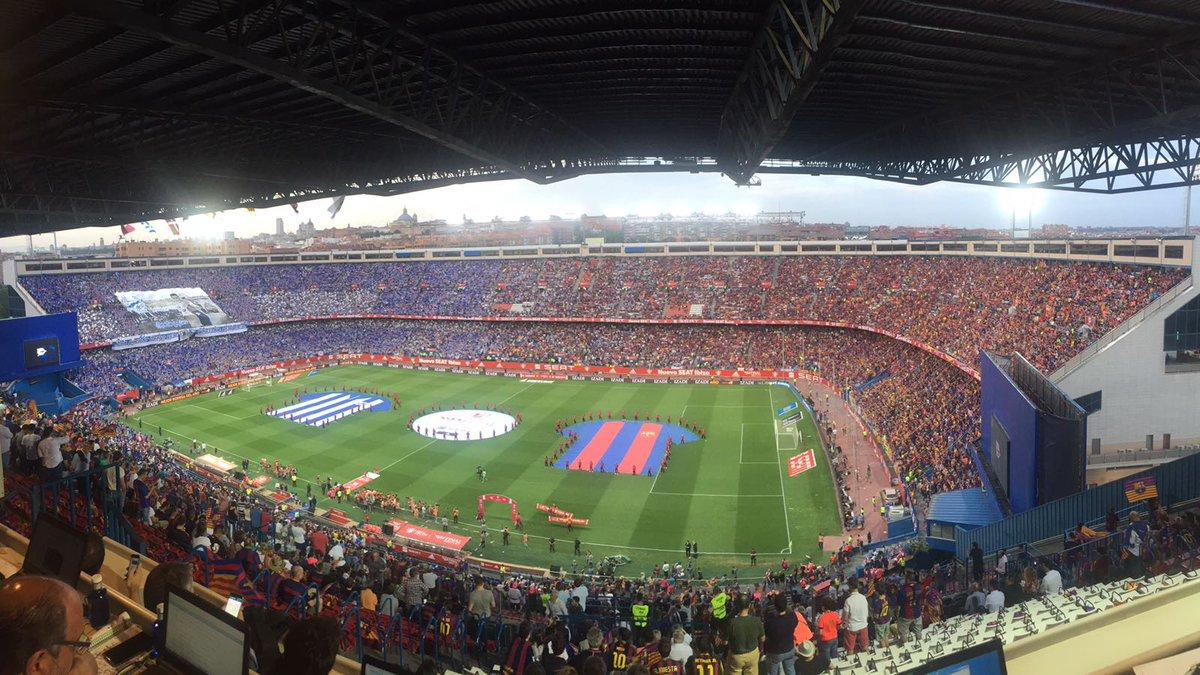 VÍDEO| Así fue la monumental pitada al himno de España en la final de #CopaDelRey