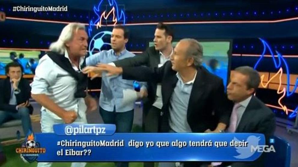 VÍDEO| 'Te voy a matar', la amenaza de Gatti a Cristóbal Soria en la peor bonca del 'Chiringuito'