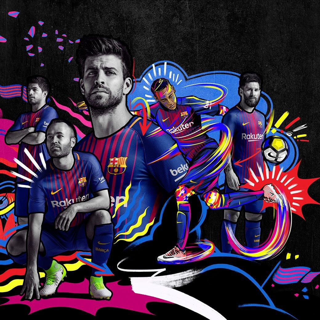 Así es la nueva equipación del FC Barcelona para la próxima temporada