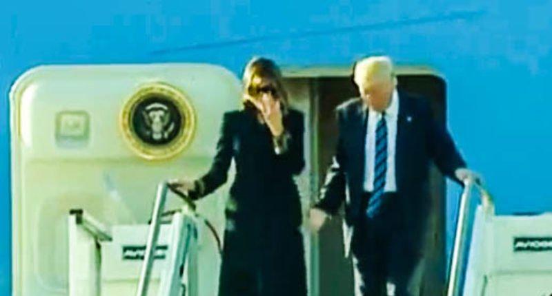 VIDEO| Un nuevo 'desplante' de Melania a Donald Trump