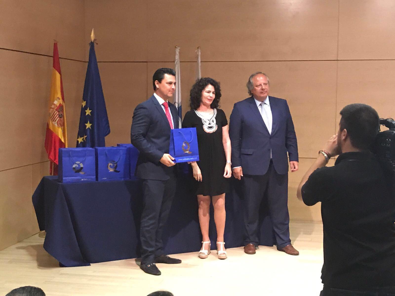 """Las playas de San Javier reciben 5 banderas """"Q de Calidad Turística"""""""