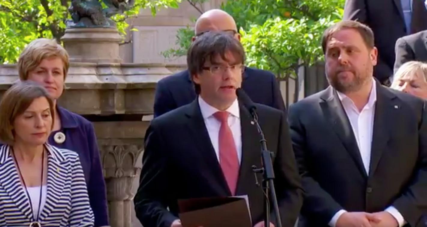 El apoyo a la independencia de Cataluña cae a tres meses de celebrarse el referéndum