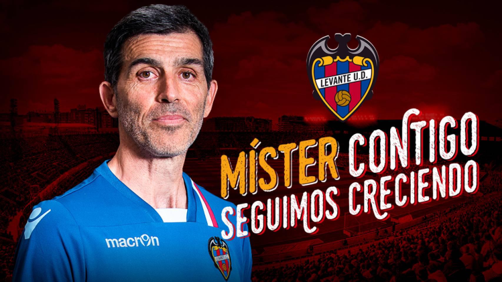 Muñiz renueva con el @LevanteUD hasta junio de 2019