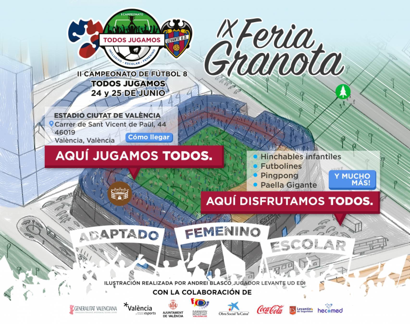 Este domingo vuelve la Feria Granota: Paella gigante y actividades para niños