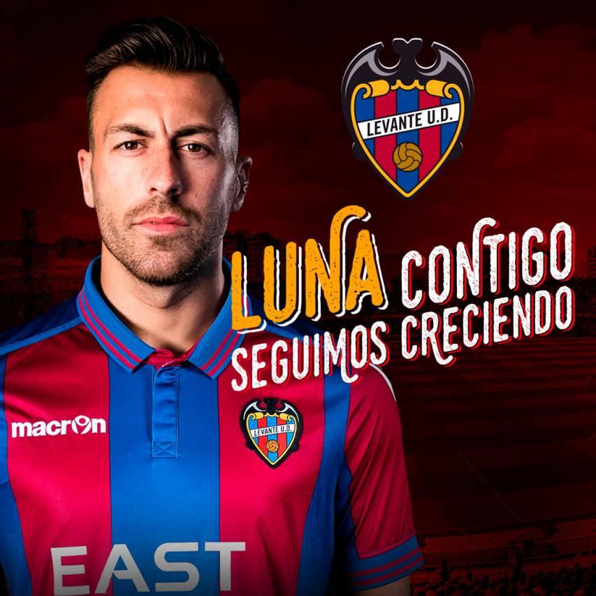 Antonio Luna, nuevo jugador del Levante para las próximas cuatro temporadas
