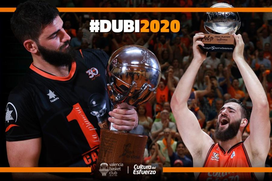 Dublevic renueva con el @valenciabasket y será 'taronja' hasta 2020