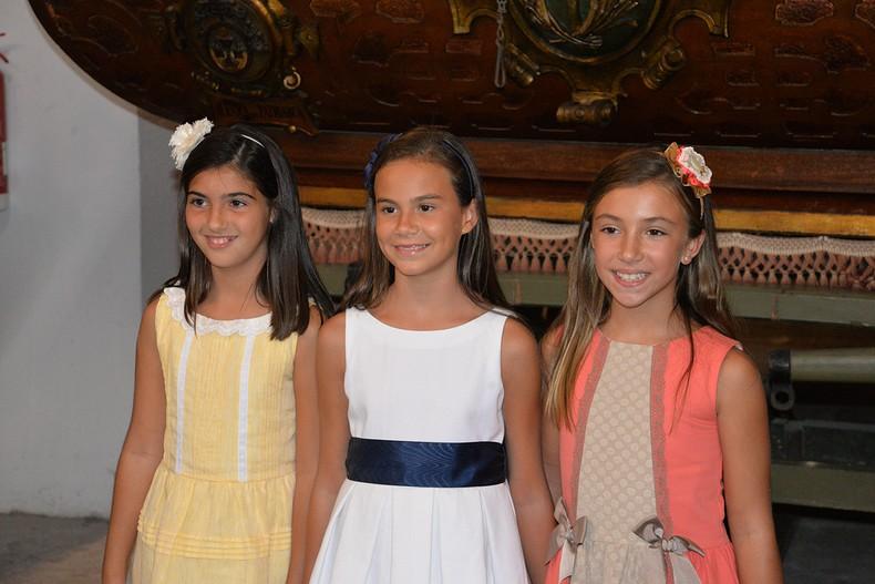 #Preseleccions18| Conoce a Aitana, Andrea y Julia, las aspirantes de Algirós a Fallera Mayor Infantil de València