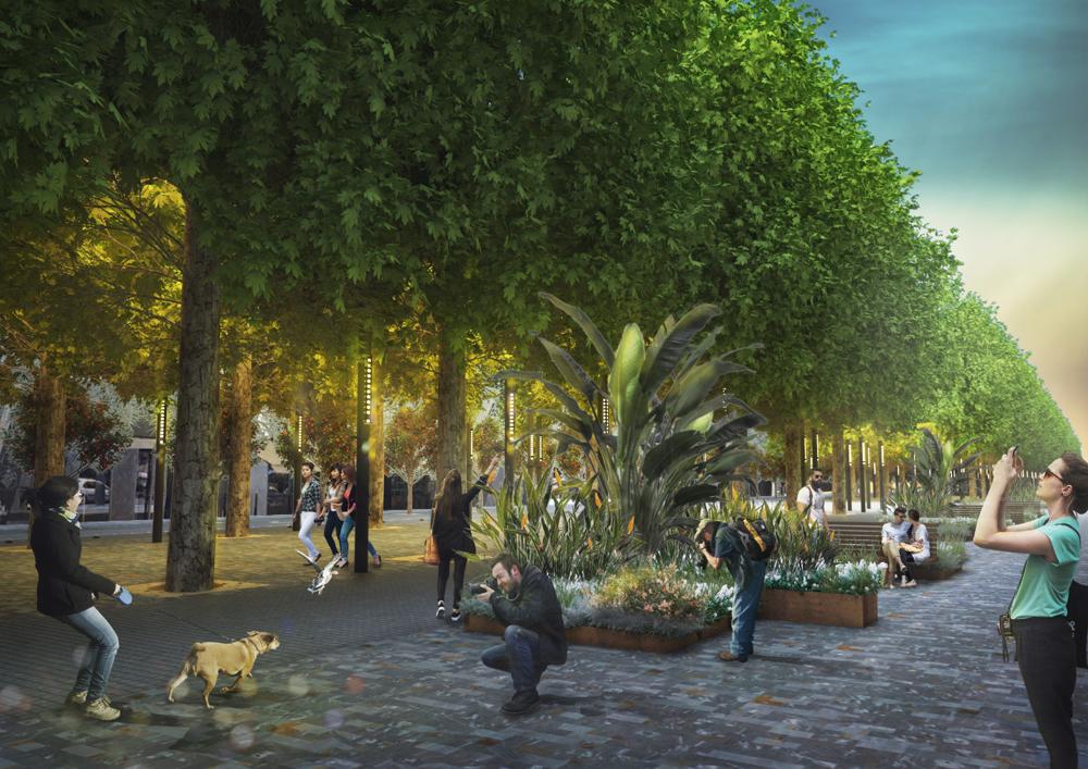 Las obras de peatonalización de la avenida Alfonso X el Sabio comenzarán después de Navidad