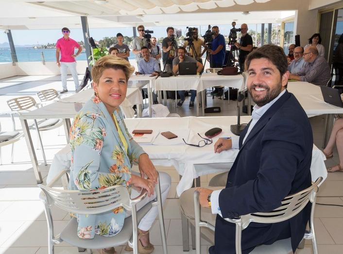 López Miras anuncia un Plan que generará más de 15.000 empleos en la Región