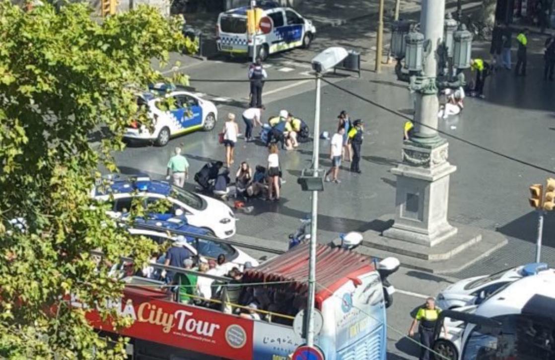 Atentado en Barcelona: Confirmados 14 muertos y más de 100 heridos