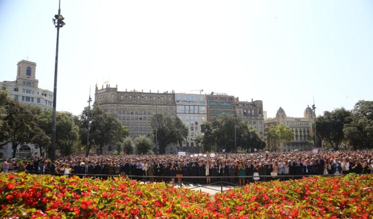 'No tenemos miedo', la respuesta de Barcelona a los terroristas