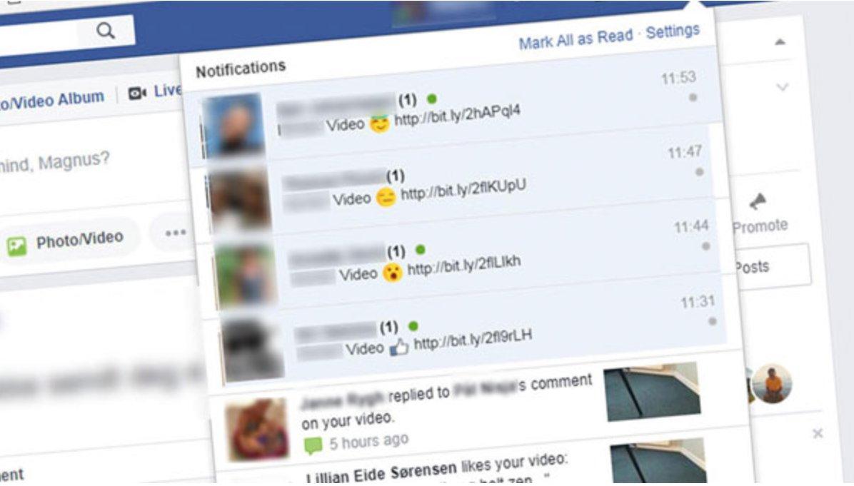 Este es el nuevo virus que está infectando Facebook a través de un vídeo