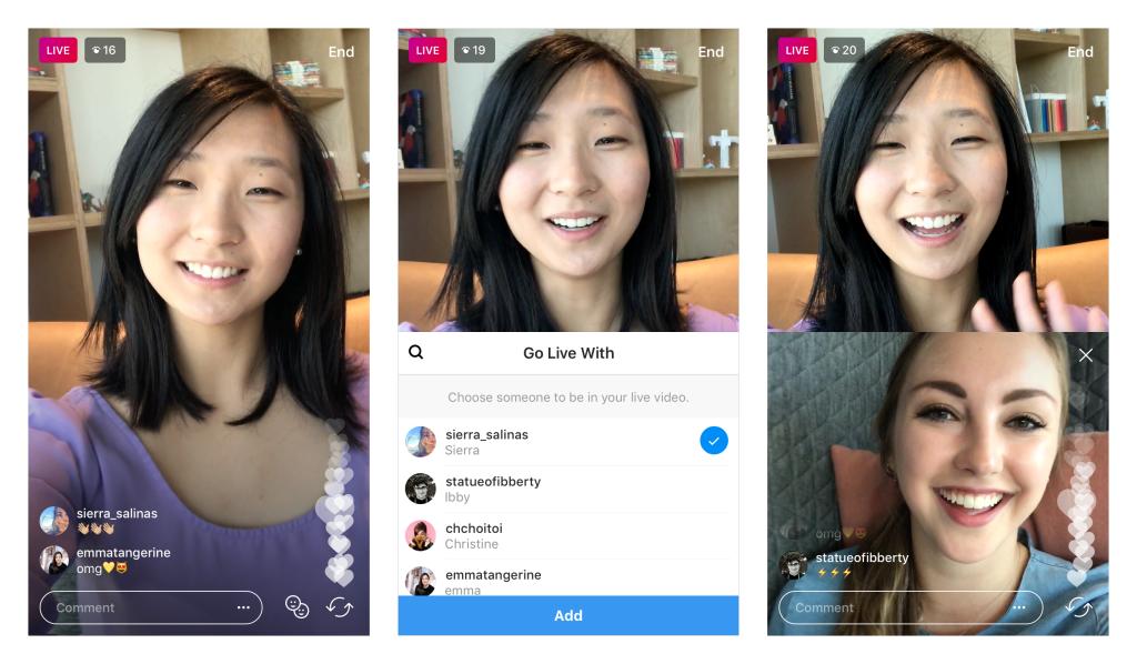Instagram prueba una función para realizar un video privado entre amigos