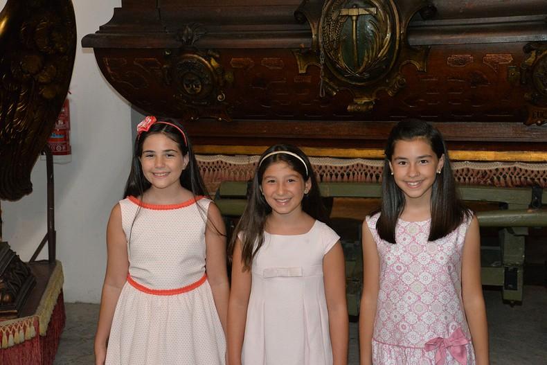 #Presleccions18| Conoce a Irene, Raquel e Irene, las candidatas infantiles del sector El Pilar-Sant Francesc