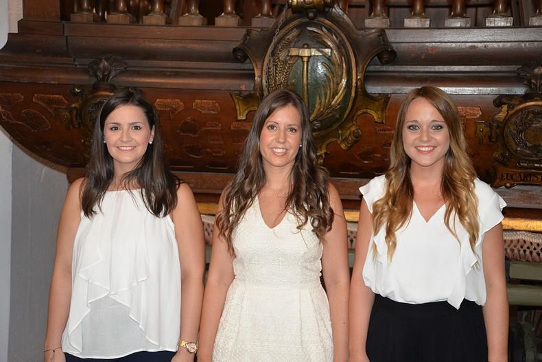#Preseleccions18| Mª Carmen, Anabel y Natalia, las aspirantes de Rascanya a Fallera Mayor de València
