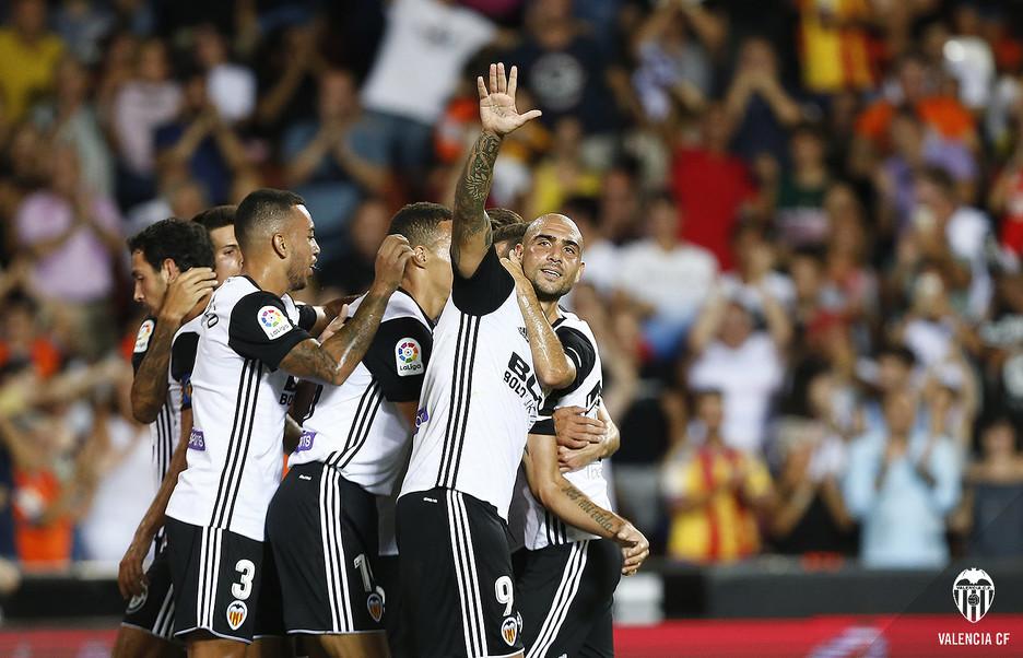 El Valencia de Marcelino inicia la Liga con victoria merecida y corta (1-0), por @JordiSanchiss