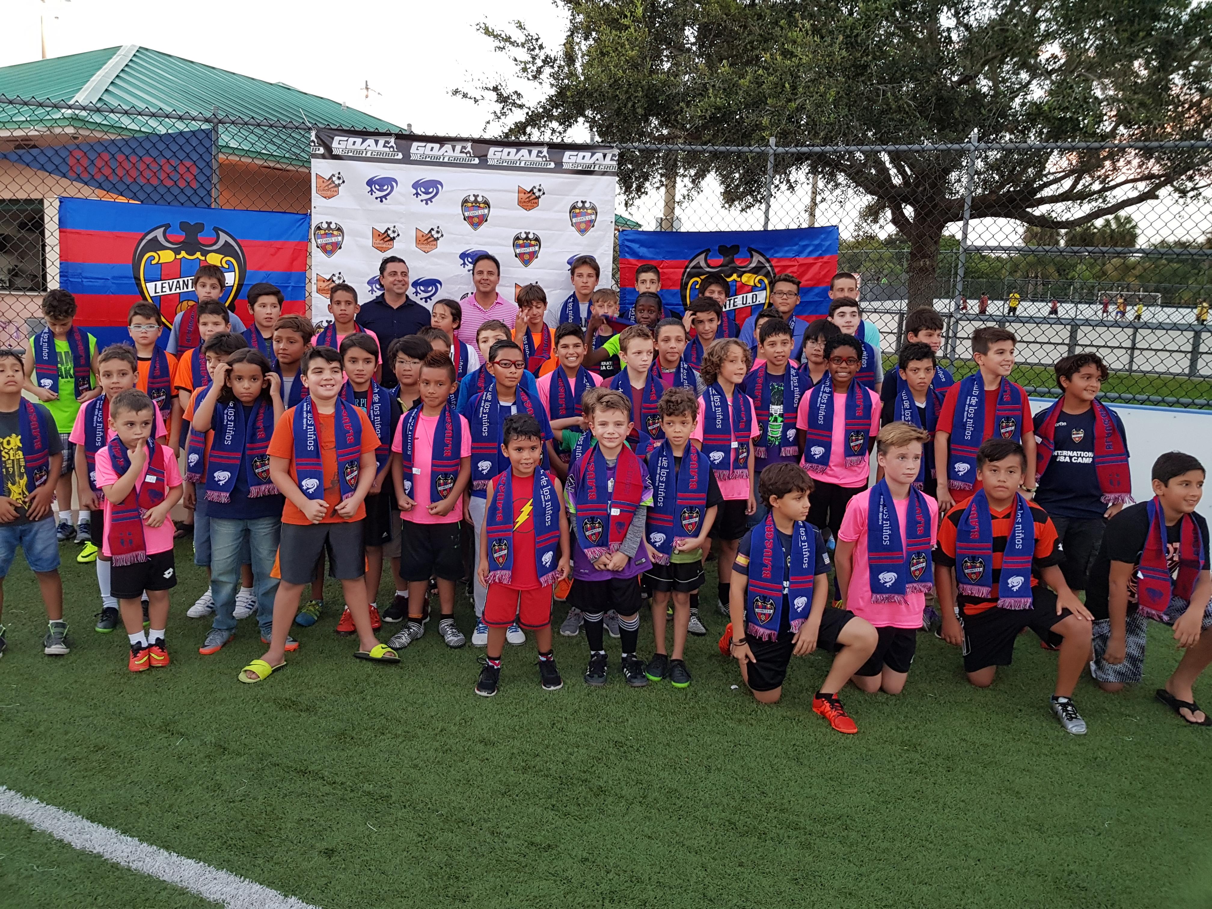 El @LevanteUD inaugura su primera academia de formación de fútbol en Estados Unidos