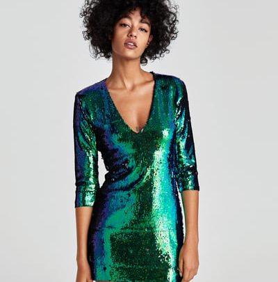 minorista online 203f2 1ff94 Los vestidos de fiesta de Zara que te pueden solucionar ...