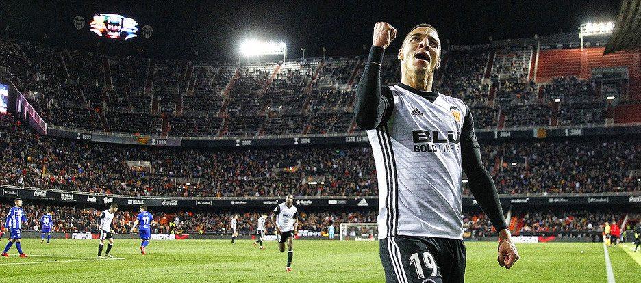 Gol Rodrigo Copa Valencia CF