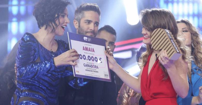 Amaia de España, ganadora de Operación Triunfo 2017