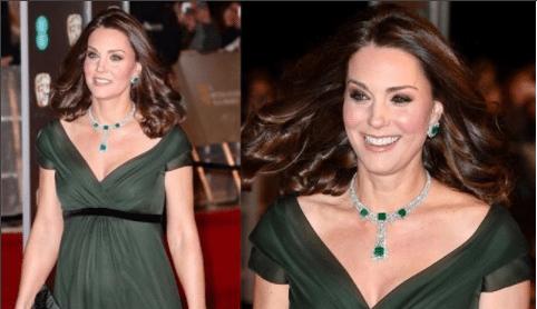 ¿Por qué Kate Middleton no fue de negro a los Premios Bafta?