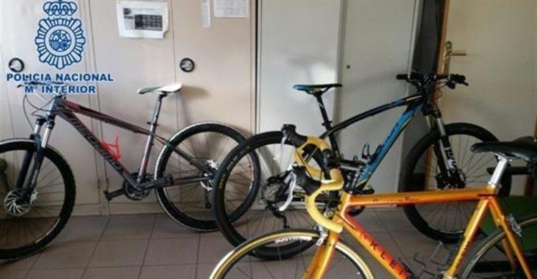 Desarticulada una red dedicaba a robar bicicletas en la ciudad para venderlas en el Norte de África