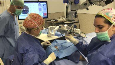 El Hospital de Manises realiza una innovadora cirugía oftalmológica que evita el trasplante de córnea