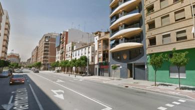 Un motorista resulta herido en un accidente con un coche en la avenida Hermanos Bou