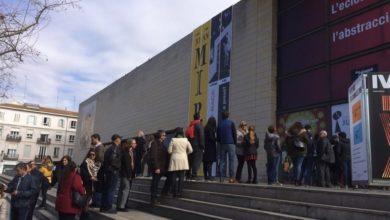 Unas 3.500 personas visitan la muestra de Miró en el IVAM en su primer fin de semana de exhibición