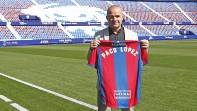 Paco López entrenador Levante UD