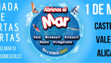 'Abrimos el Mar 2018' puertas abiertas
