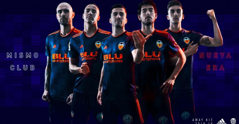 Esta es la segunda camiseta que lucirá el Valencia CF la